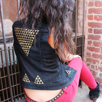 Studded Jean Jacket
