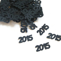 2015 Confetti - New Years Eve Party Supplies - 100 Pieces - custom colors