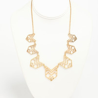 Tribal Cut Necklace
