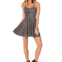 CHAINMAIL SCOOP SKATER DRESS
