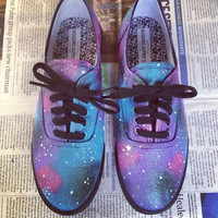 Women's Cotton Candy Galaxy Shoes