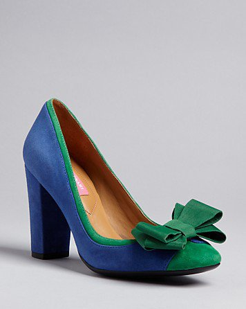 Isaac Mizrahi New York Square Toe Pumps - Lauren High Heel - Shoes - Bloomingdale&#x27;s