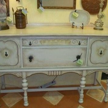 Hand Painted Jacobian Buffet