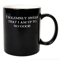 Harry Potter I Solemnly Swear...Mischief Managed Transforming Mug |
