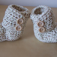 crochet baby boots, baby boy clothes, newborn baby