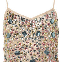 Jewel Embellished Cami Top - Jersey Tops  - Apparel