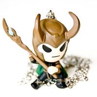 Loki God of Mischief Avengers Necklace