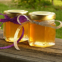 Wedding Favors, 48 Raw Wildflower Honey 2oz Jars, Raw Honey, Tennessee Wildflower, Medicinal