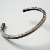 Horse Shoe Cuff Bracelet by LaurenRamirez on Etsy