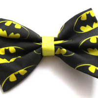 Batman Logo Bow