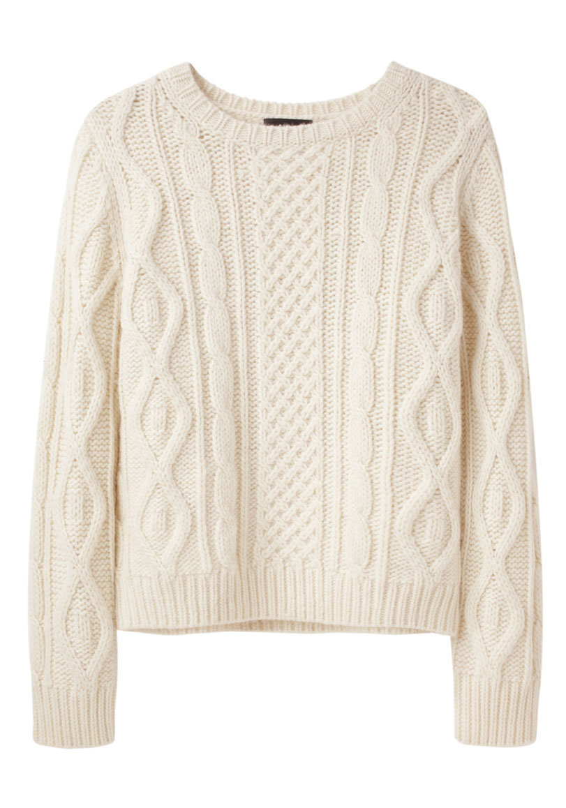 Irish Cable Wool Sweater 98