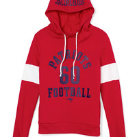 New England Patriots Funnel-Neck Pullover