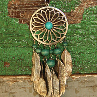 DreamCAtcher leather cord necklace | gypsyville