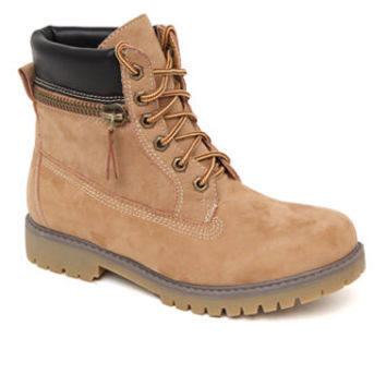 Madden Girl - Kendall & Kylie Boo Work Boots - Womens Boots - Wheat