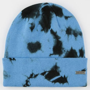 Volcom Cloud Mens Beanie Blue One Size For Men 24656720001