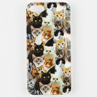 Cat Collage Iphone 5/5S Case Multi One Size For Women 25178895701