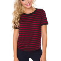 Caia Striped Top