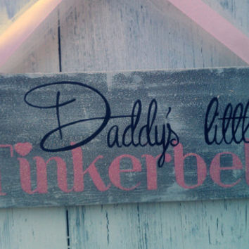 Girls bedroom sign glitter pink baby from romanticplanet for Signs for little girl rooms