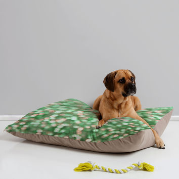 "Lisa Argyropoulos Holiday Cheer Mint Pet Bed - 40"""" x 30"""""