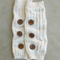 Ivory Hayseed Knitted Boot Cuffs [6435] - $21.00 : Vintage Inspired Clothing & Affordable Dresses, deloom   Modern. Vintage. Crafted.