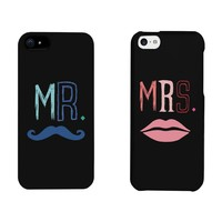 Mr and Mrs Couples Matching Cell Phone Cases for iphone 4, iphone 5, iphone 5C, iphone 6, iphone 6 plus, Galaxy S3, Galaxy S4, Galaxy S5, HTC M8, LG G3