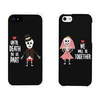 His and Hers Matching Phone Case - Skeleton Wedding Couples for iphone 5, iphone 5C, iphone 6, iphone 6 plus, Galaxy S3, Galaxy S4, Galaxy S5, HTC M8, LG G3