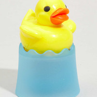 Tea Duckie | Floating Rubber Duck Shaped Tea Infuser | fredflare.com