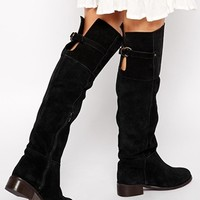 New Look Bules Over The Knee Boots