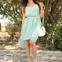 Hi/Lo dress (Mint) - DulceCandyXO - Trendy and Affordable Style