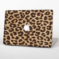 """The Simple Vector Cheetah Print Skin Set for the Apple MacBook Pro 13"""" with Retina Display"""