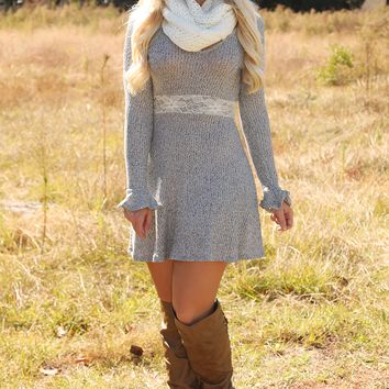 RESTOCK: Best Thing That's Ever Been Mine Dress: Ash Gray