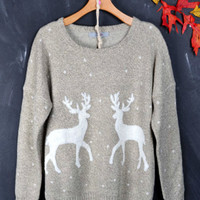Oh My Sweet Deers Sweater