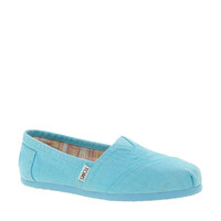 TOMS Plametto Neon Canvas Flat Shoes at asos.com