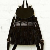 Free People Oakland Fringe Backpack