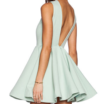 AQ/AQ Koko Mini Dress in Green
