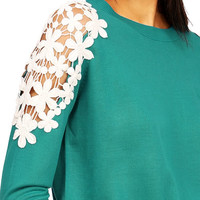 Flutter Shoulder Knit