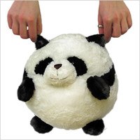 Mini Squishable Panda: An Adorable Fuzzy Plush to Snurfle and Squeeze!