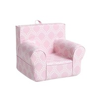 Evelyn Vine Pink Anywhere Chair | Pottery Barn Kids
