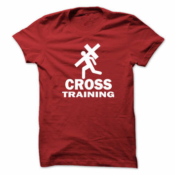 Cross Training Blood Red Tee