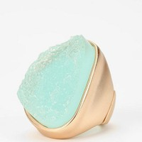 Sea Foam Crystal Ring