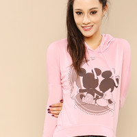 Mickey & Minnie Mouse Couple Hoodie
