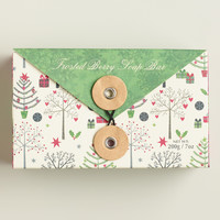 Castelbel Festive Frosted Fig Boxed Soap - World Market