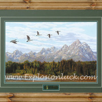 Positive Energy Feng Shui Wall Art Teton Majesty