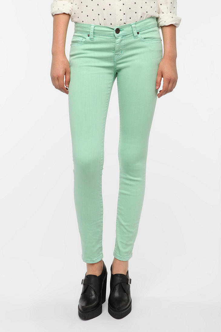 BDG Cigarette High-Rise Jean - Mint