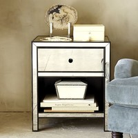Marnie Mirrored Bedside Table