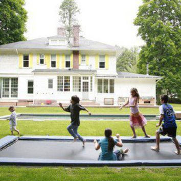 ideas I like / Underground Trampoline!