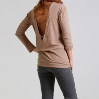 Nightcap Clothing Zig Zag Tee in Camel