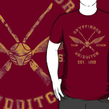 """""""Abercrombie & Quidditch Harry Potter Shirt"""" T-Shirt Design by spacemonkeydr 