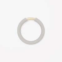 COS | Rubber and metal ring