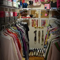 Closet Inspiration:Small Closet Space Ideas